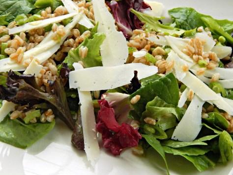 Spring Mix Salad with Lemony White Balsamic Dressing