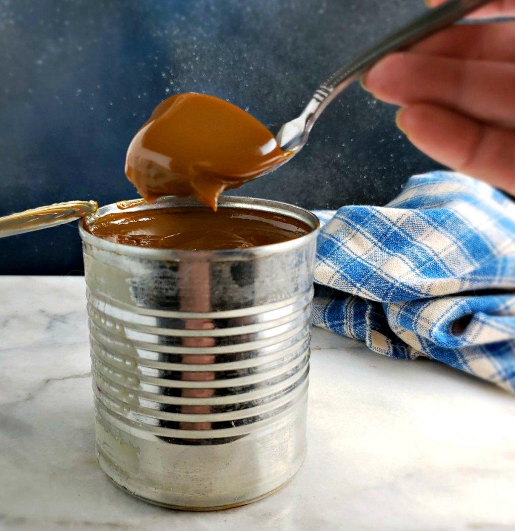 Homemade Slow Cooker Dulce de Leche