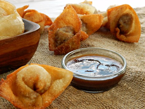 Fried Pork Wontons
