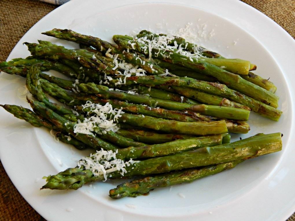 Grilled Asparagus with Lemon & Parmesan