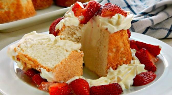 Aunt Mary's Angel Food Cake