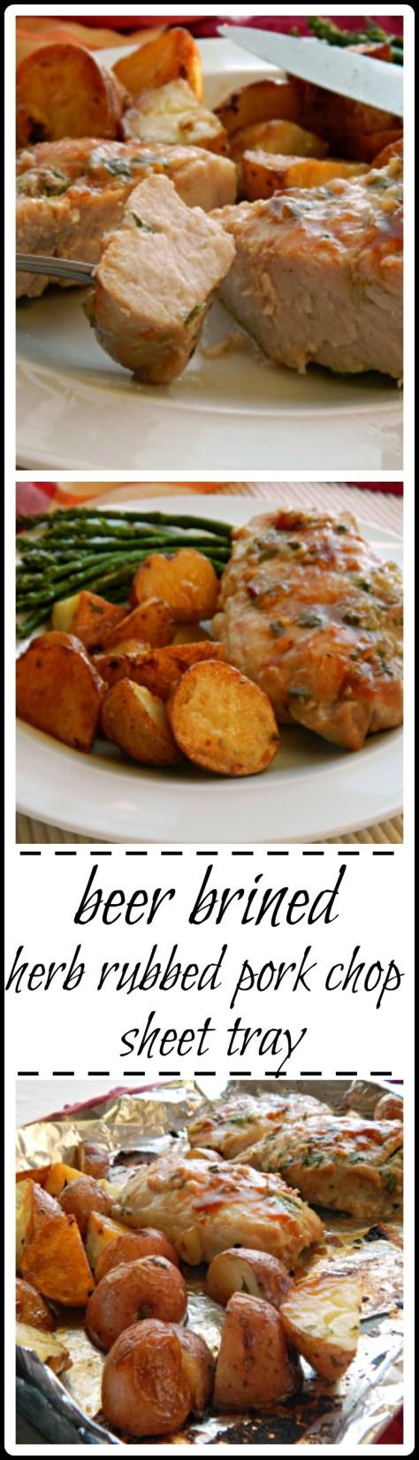 One pan pork chops & potatoes - simple gourmet