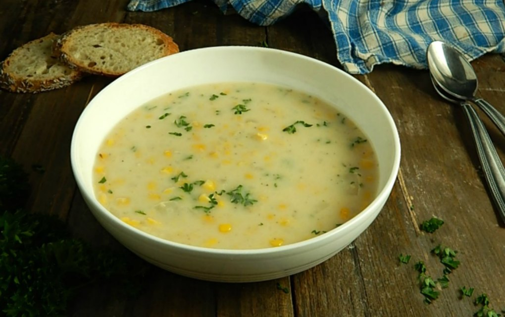 End of Summer Corn Chowder