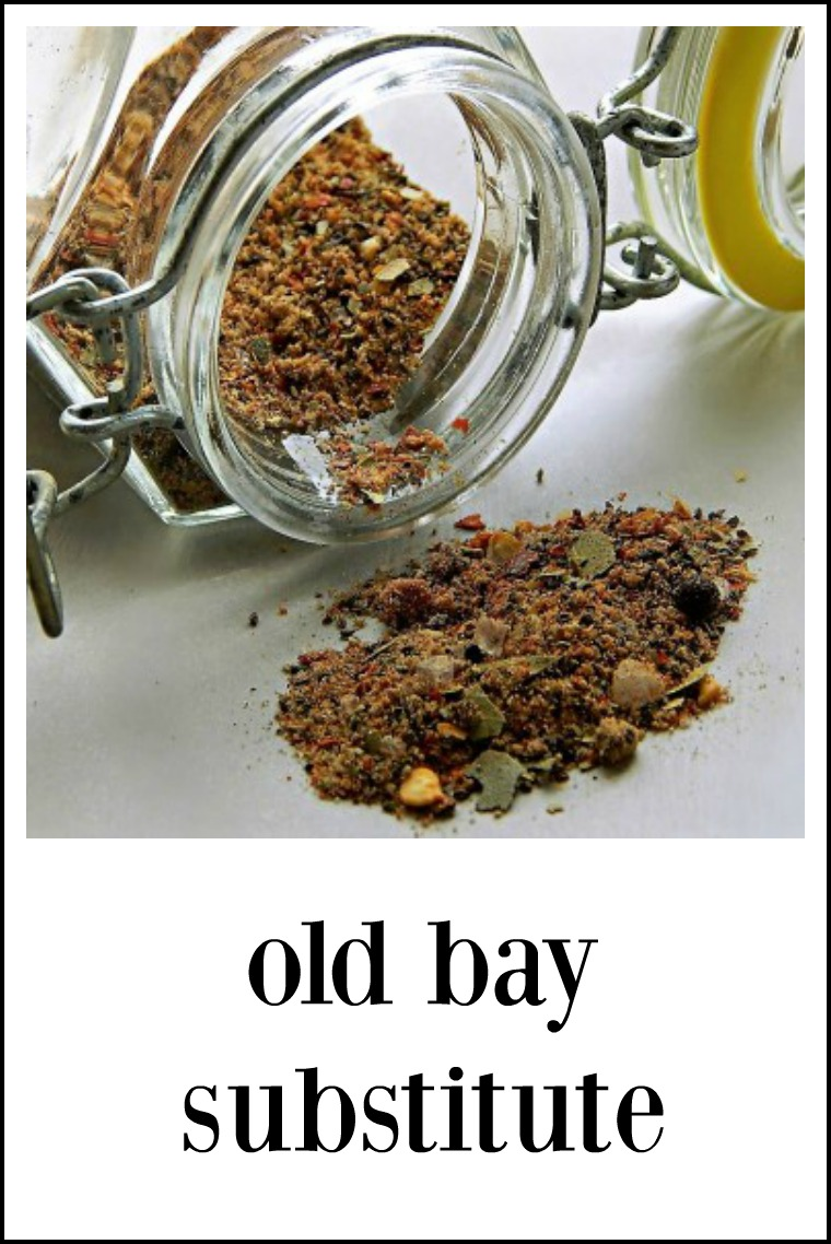There's a lot of spices in Old Bay Substitute - it's so fresh and such a wild mix of flavors! Make as is or tinker for your own blend. #OldBayCopycat #OldBaySubstitute