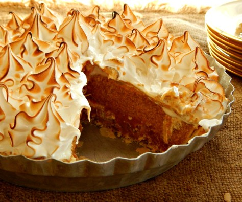 Caramel Cream Pumpkin Pie