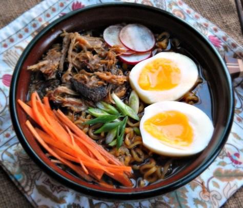 Shortcut Ramen made from Vaguely Vietnamese Pork