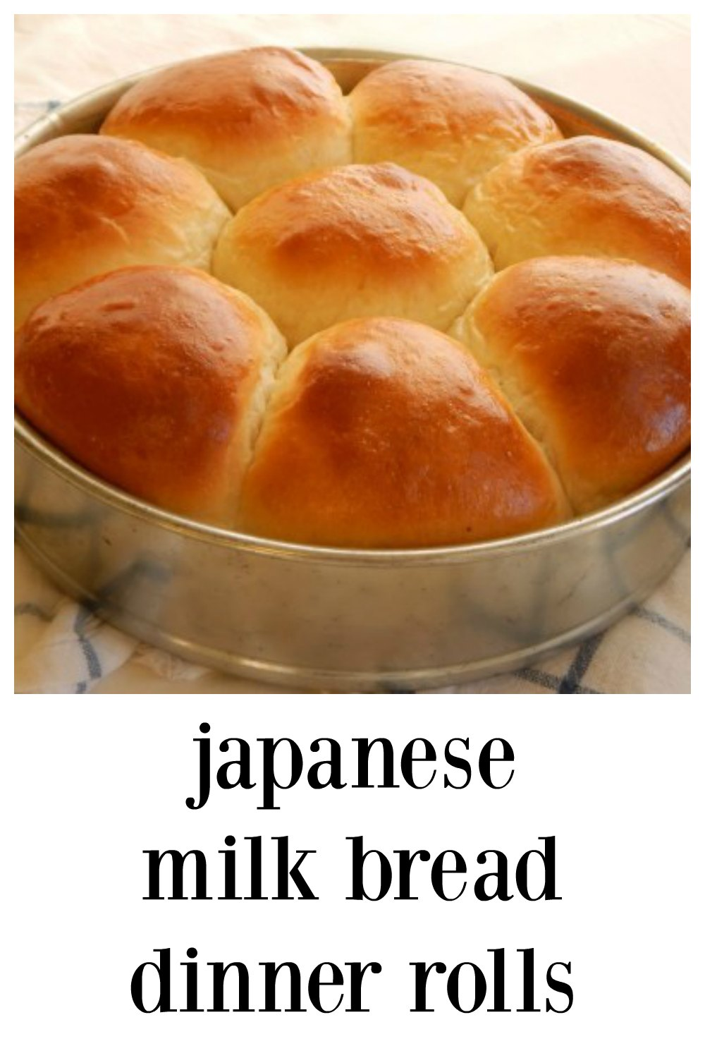 apanese Milk Bread Dinner Rolls are rich, light, billowy & insanely good! They rise & bake fast & you'll look like a pro when you bring these to the table. These are SO next level! #JapaneseMilkBread #JapaneseMilkBreadDinnerRolls #JapaneseDinnerRolls