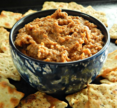 Red Lentil Dip with a Spanish Flair