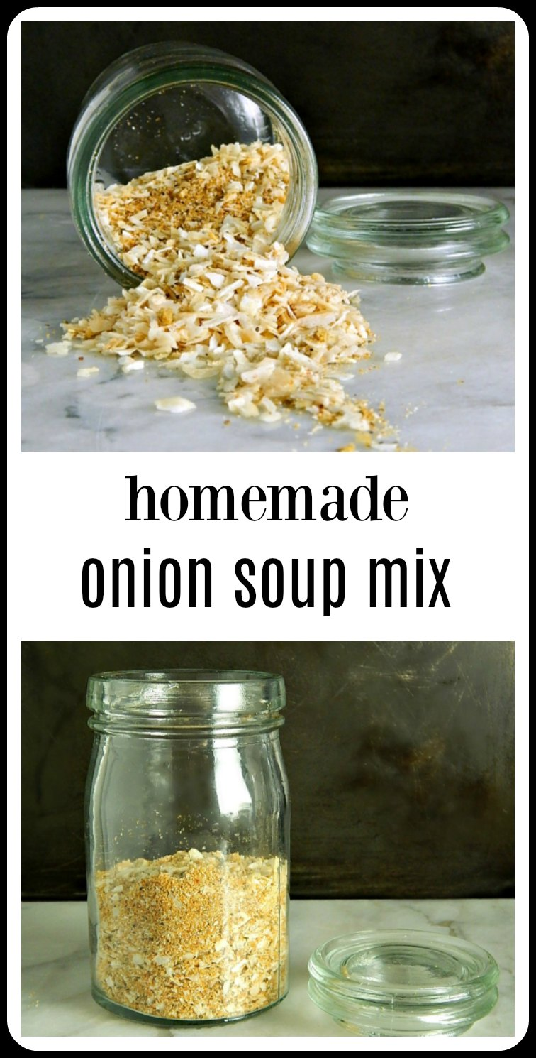 pin Homemade Onion Soup Mix