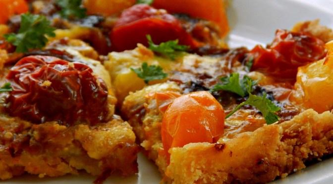 Oven Roasted Tomato Tart