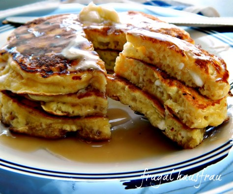 Fluffy Cottage Cheese Pancakes