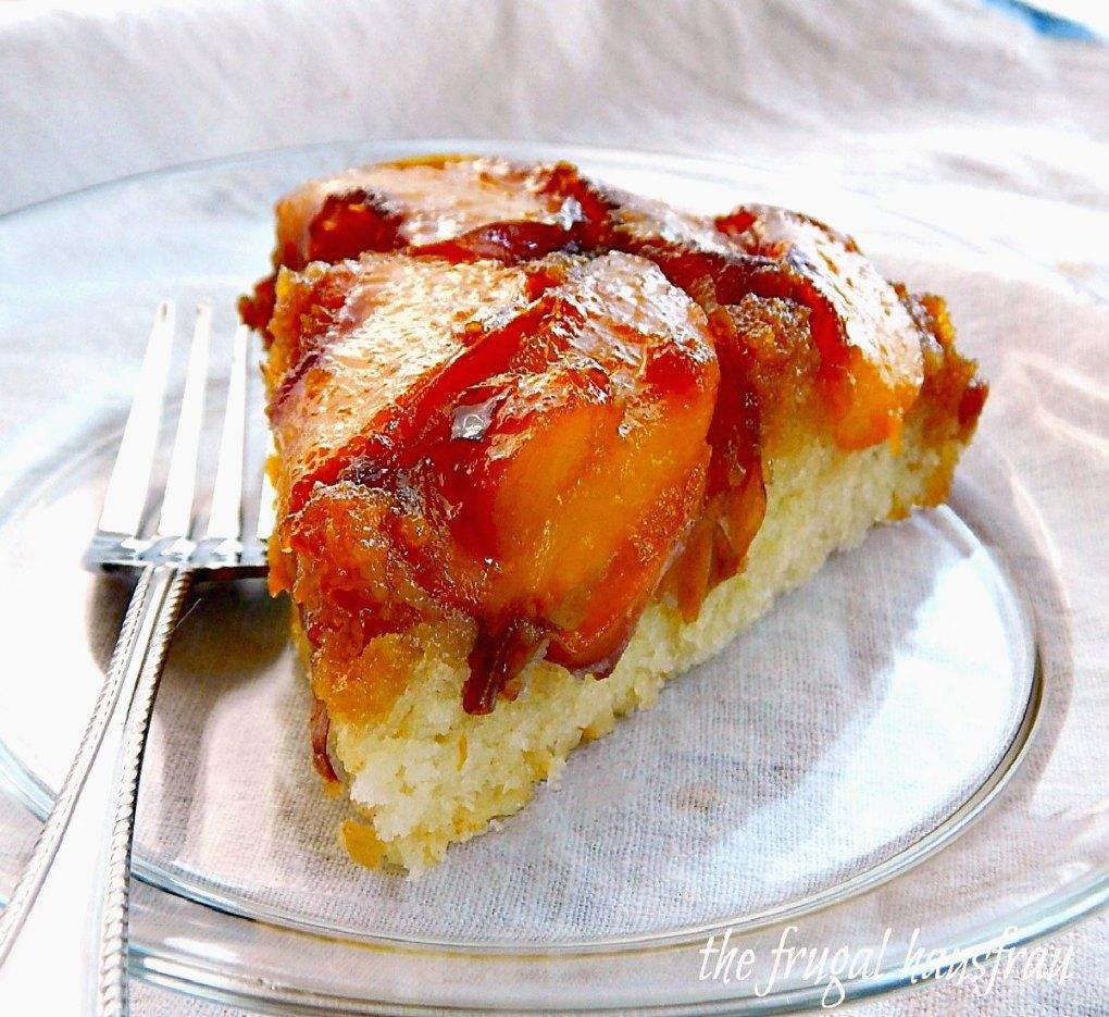 Peach Updide Down Cake