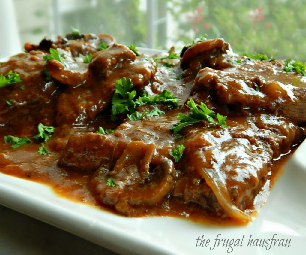 Swiss Steak Mushroom Gravy Instant Pot