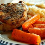 Instant Pot Pork Chop One Pot Meal: Pork Chops, Mashed Potatoes, Gravy & Carrots