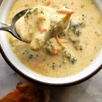 15 Minute Instant Pot Broccoli Cheese Soup