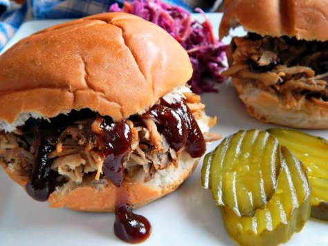 Pulled Pork Sandwiches from Slow Cooker Pulled Pork