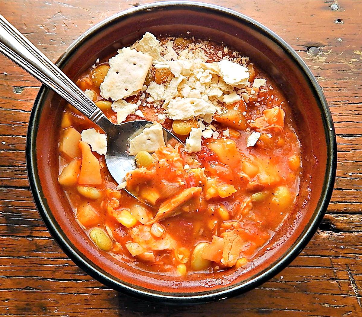 Virginia Style Brunswick Stew Recipe