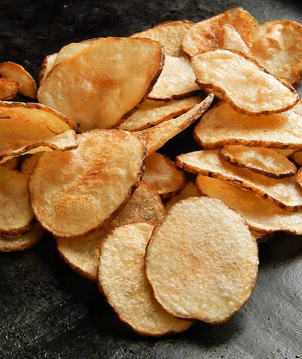 The Best Homemade Potato Chips - Brined & Double Fried