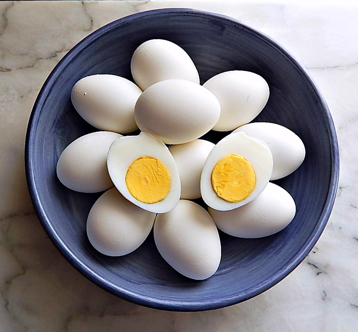 A Dozen Instant Pot Hard Boiled Eggs