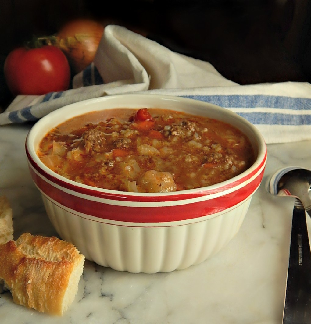 Instant Pot Cabbage Roll Soup