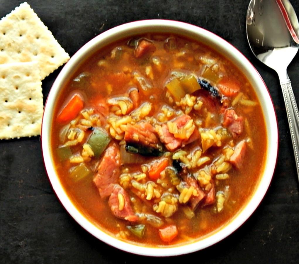 CajunHam & Rice Soup