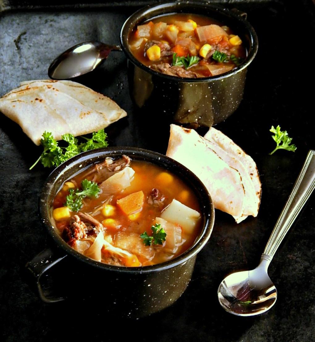 Shortcut Caldo de Reys Mexican Beef Soup