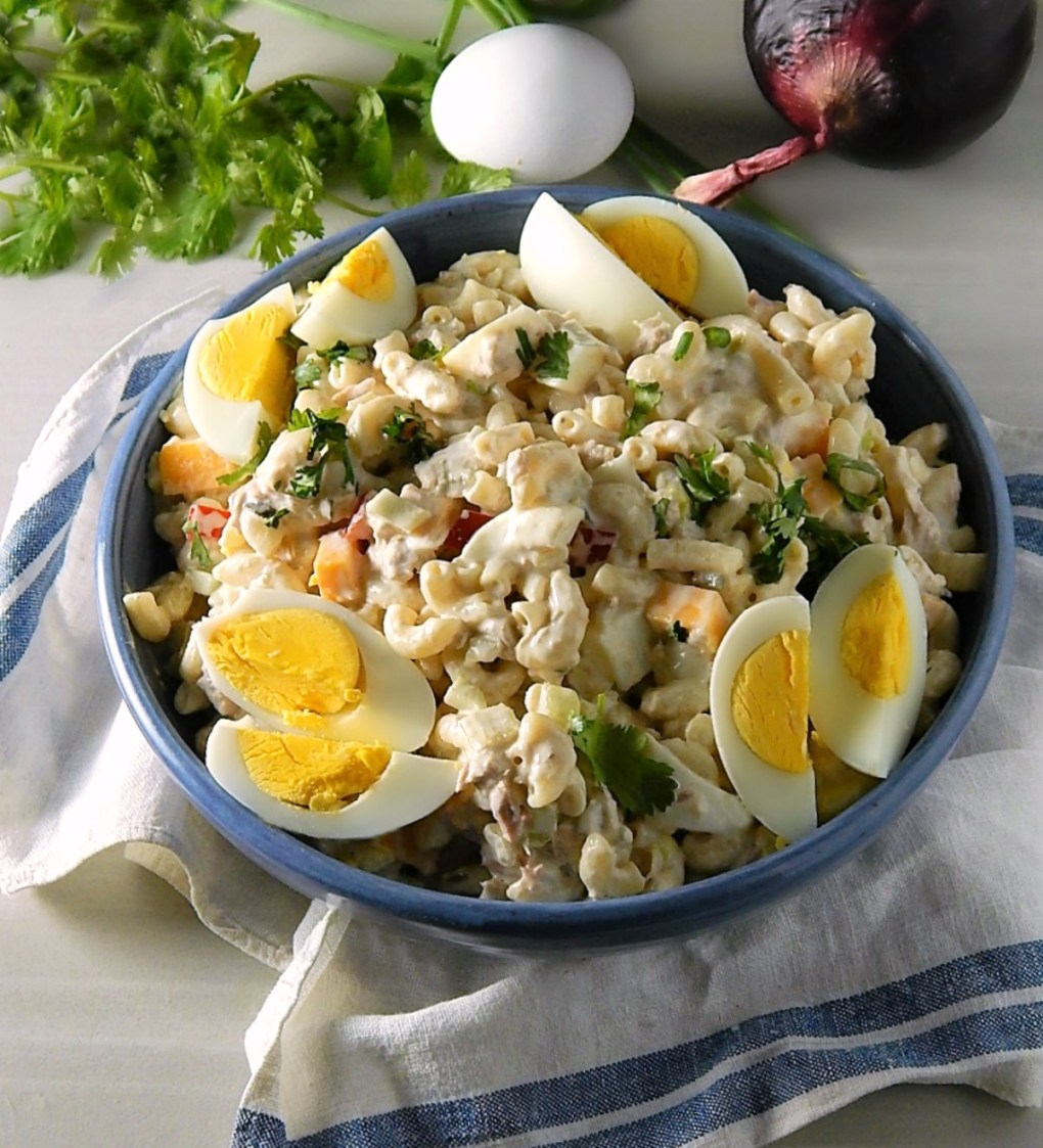 Old Fashioned Tuna Macaroni Salad