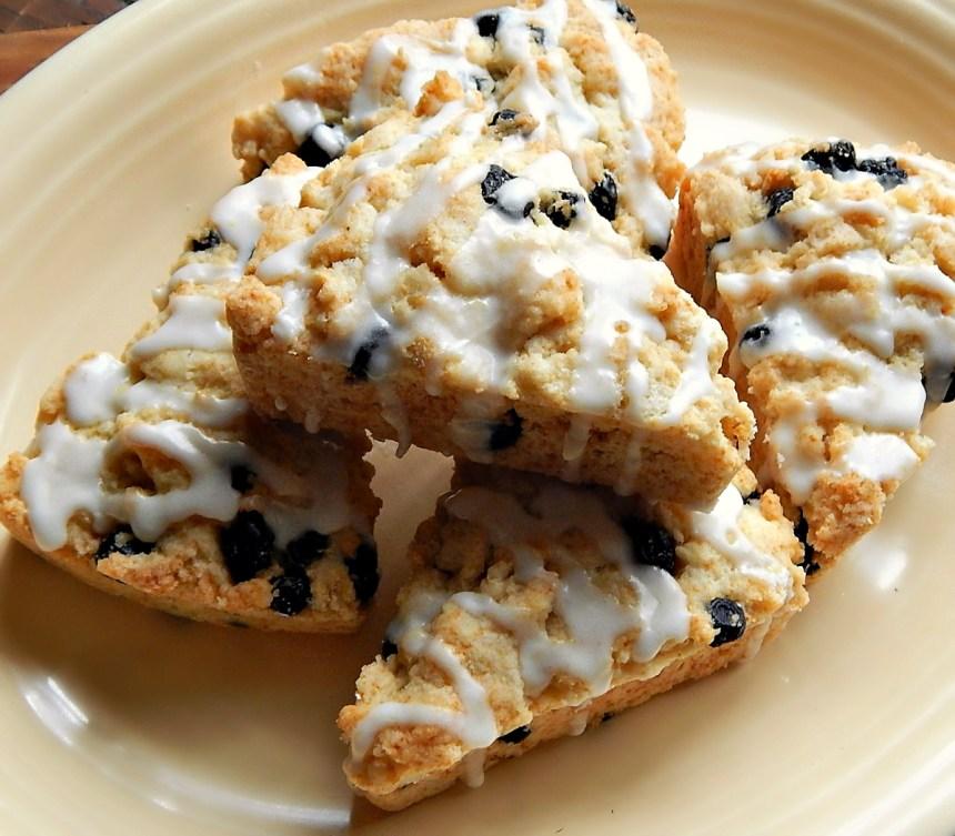 Dried Blueberry Lemon Scones
