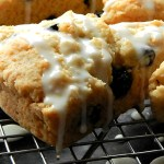 Dried Blueberry & Lemon Scones