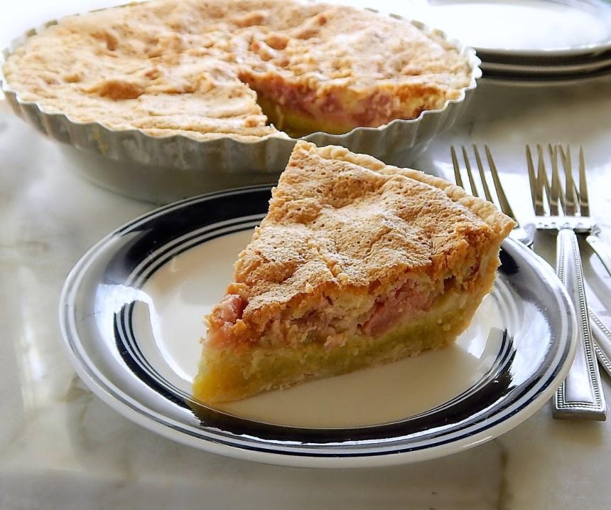 Two LayerRhubarb Custard Pie