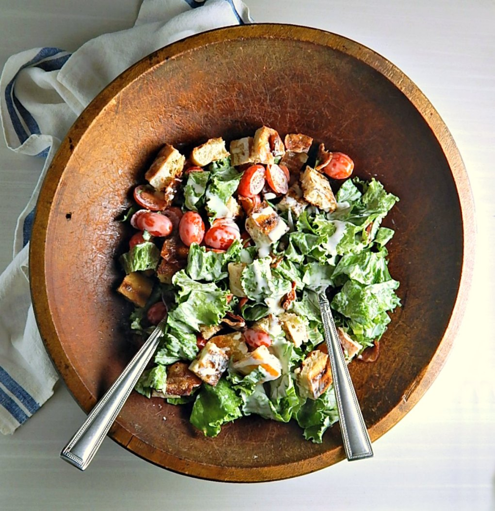 Bacon Lettuce Tomato Salad