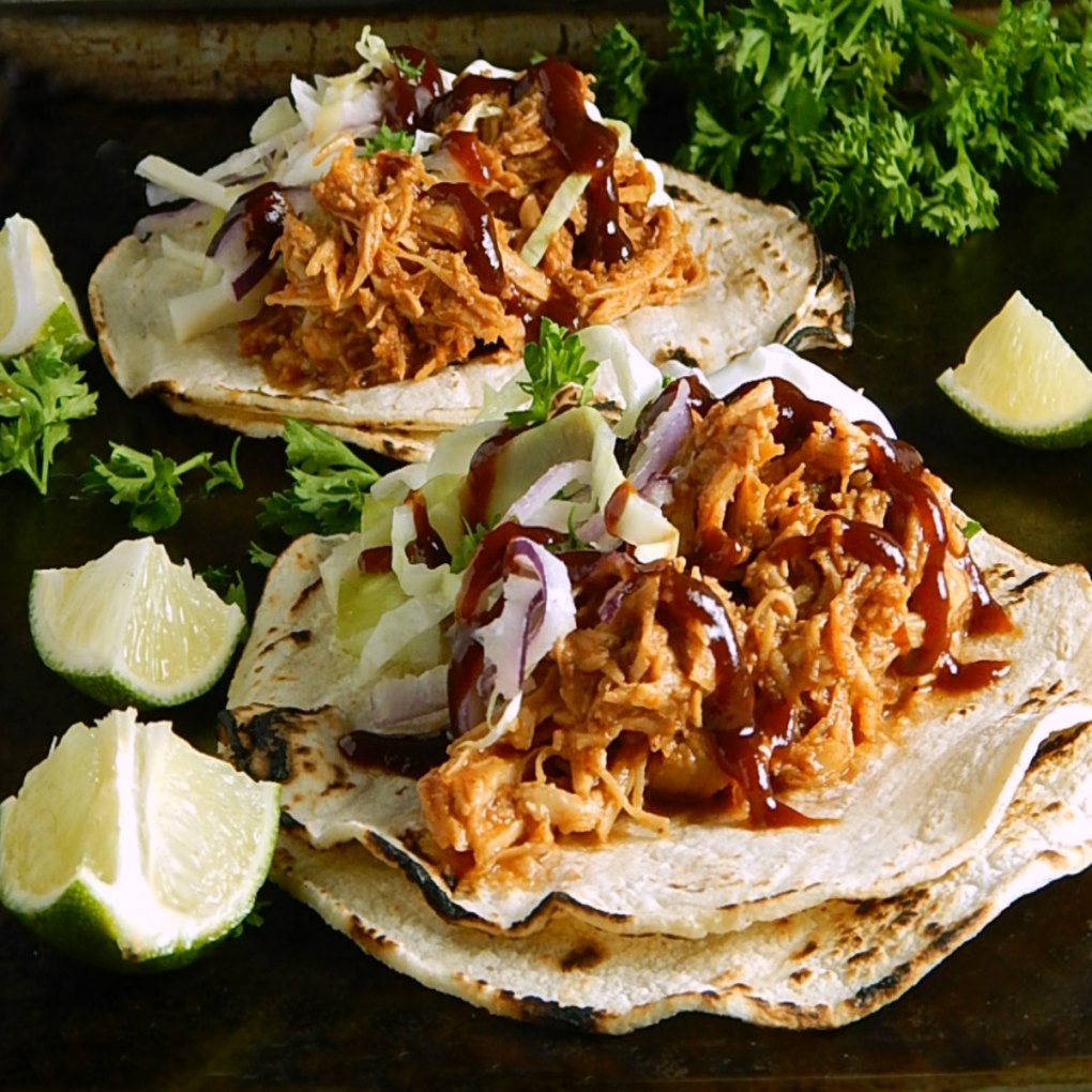 Honey Barbecued Pulled Chicken