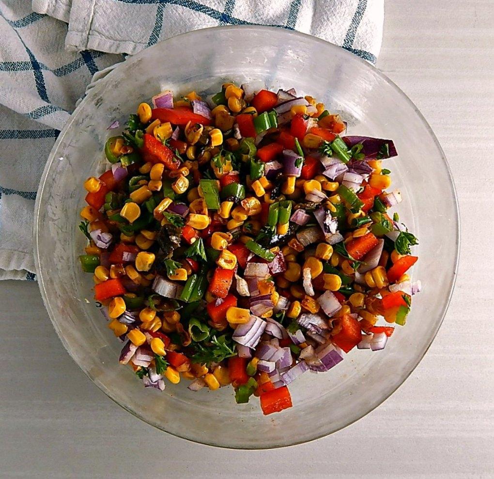 Roasted Sweet Corn Salsa