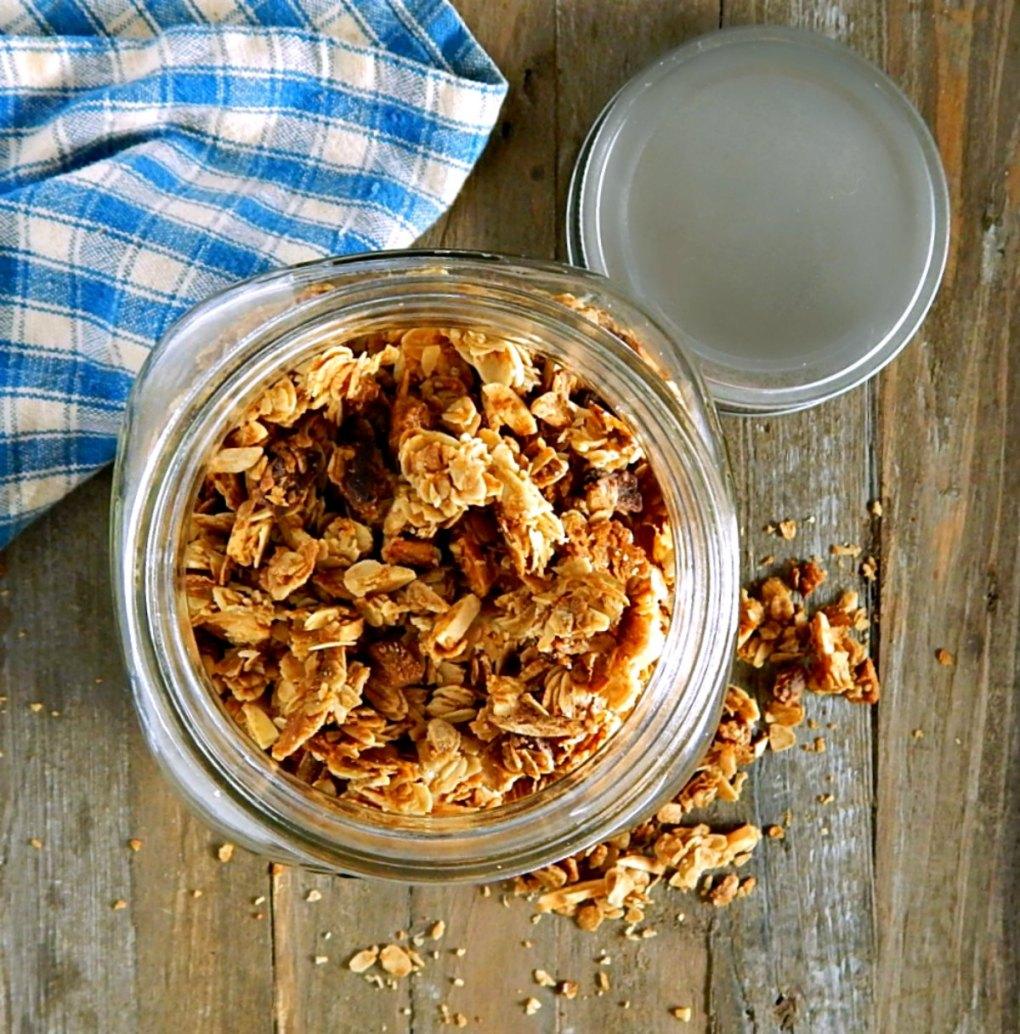 Autumn Almond Pear Granola