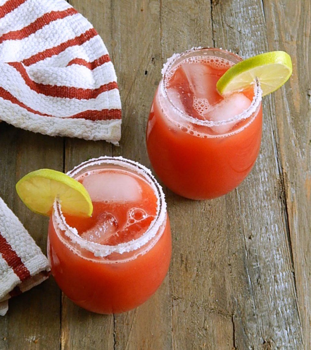 Watermelon Cooler Cocktail