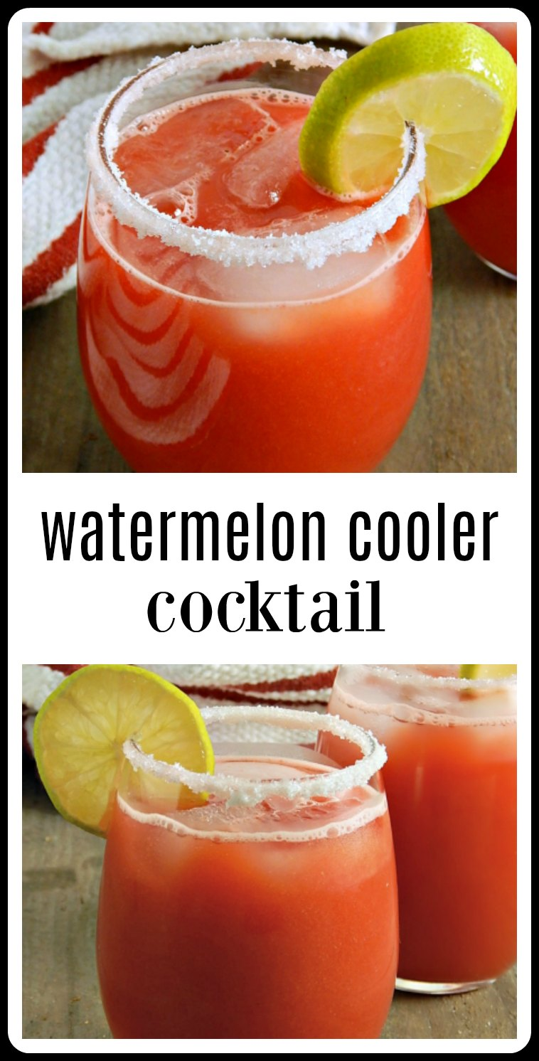 pin watermelon cooler cocktail