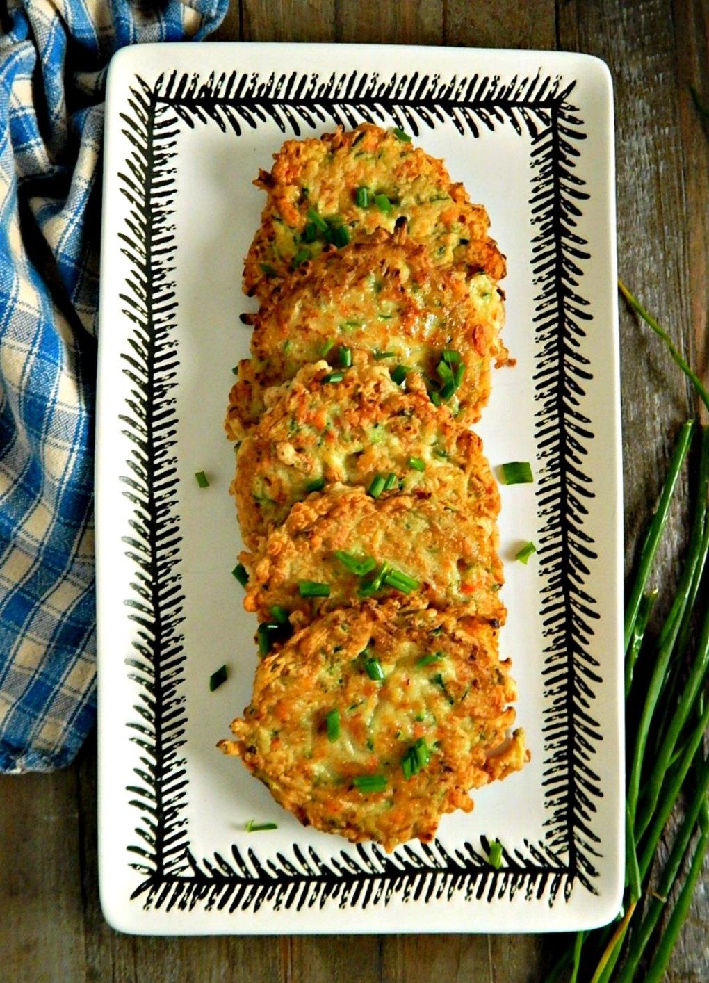 Crispy Zucchini Fritters