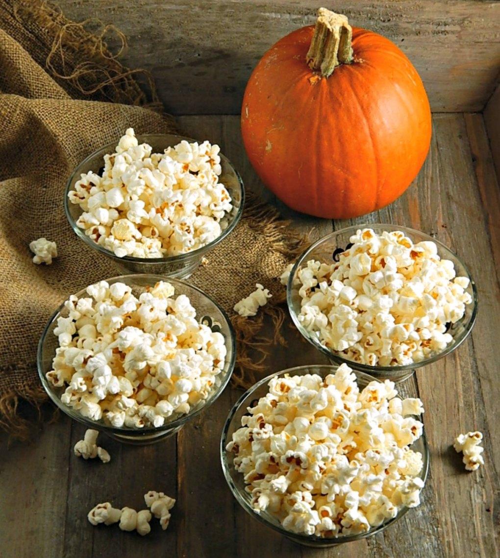 Freshly Popped Homemade Popcorn