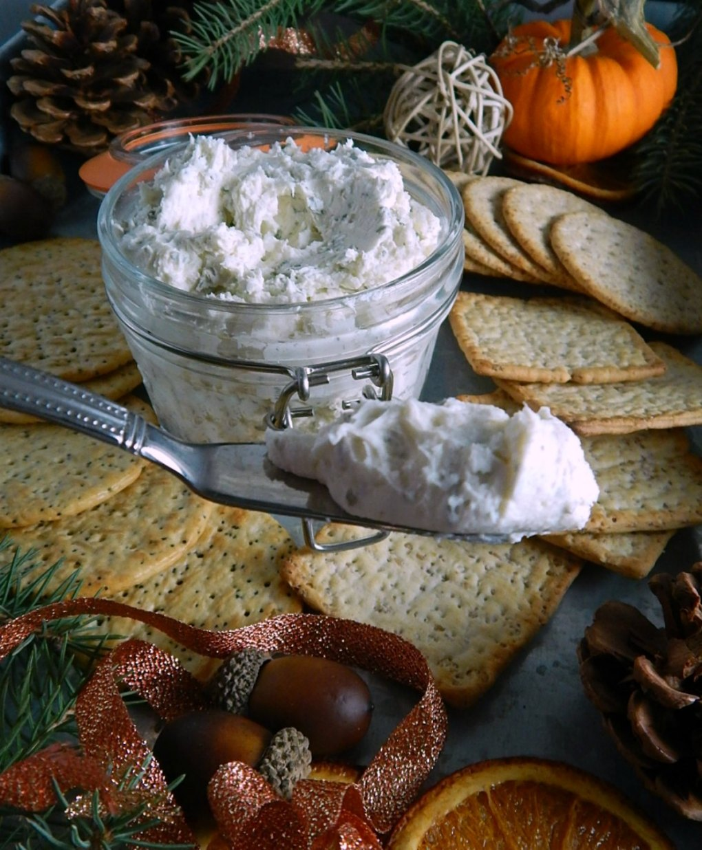 Easy Homemade Boursin Cheese