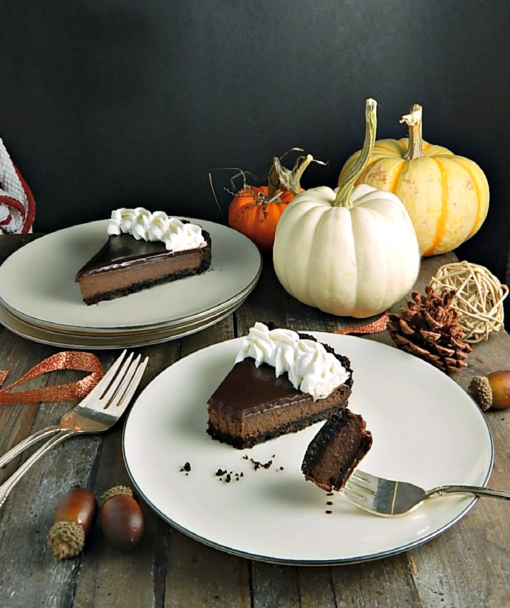 Chocolate Glazed Tart