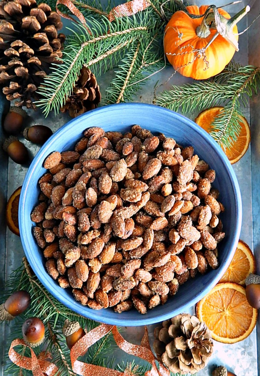 Sweet Spicy Slow Cooker Nuts