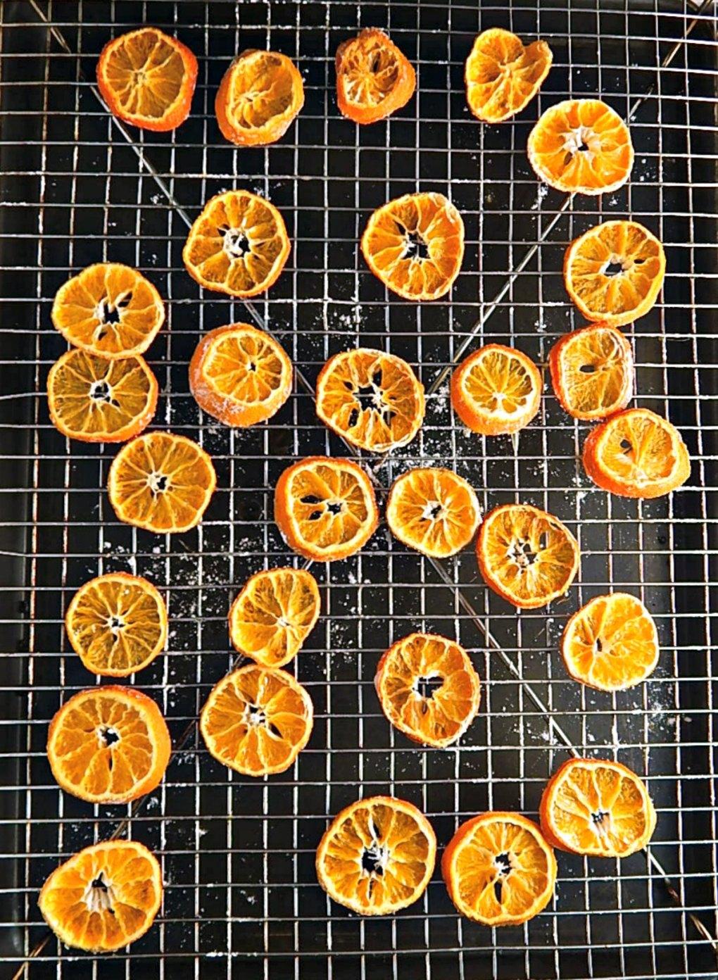 Beautiful Dried Oranges