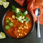 Instant Pot Mexican Chipotle Chicken Soup