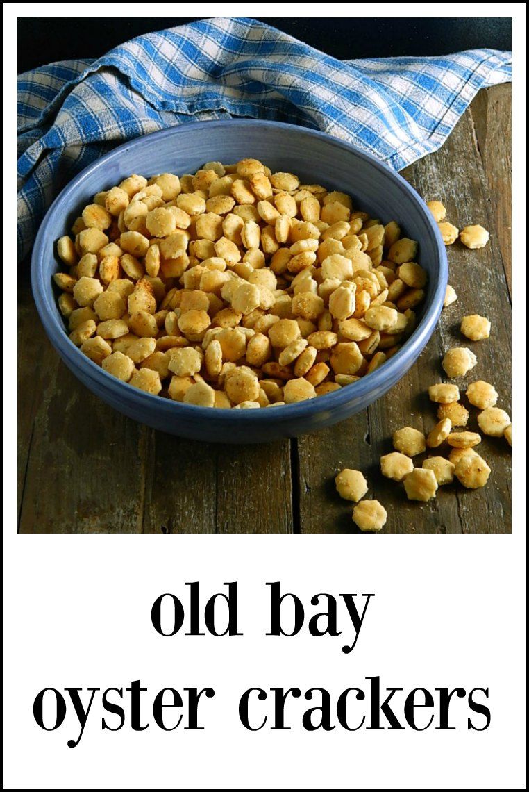 Old Bay Oyster Crackers are your quick, no effort & easy snack for any party! Maybe the Superbowl? They're positively addictive. #OldBayOysterCrackers