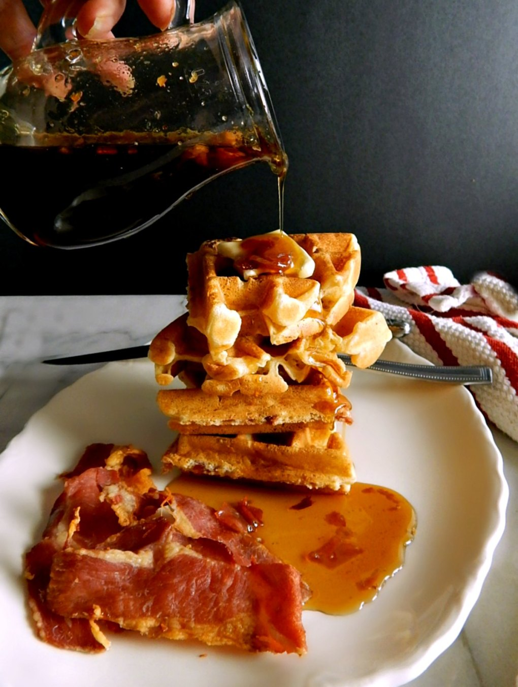 Best Bacon Waffles