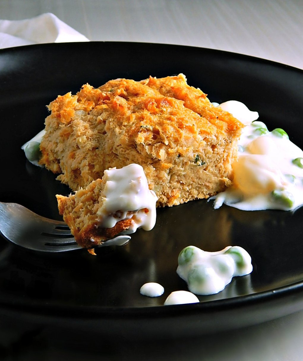 Not Grandma's Salmon Loaf