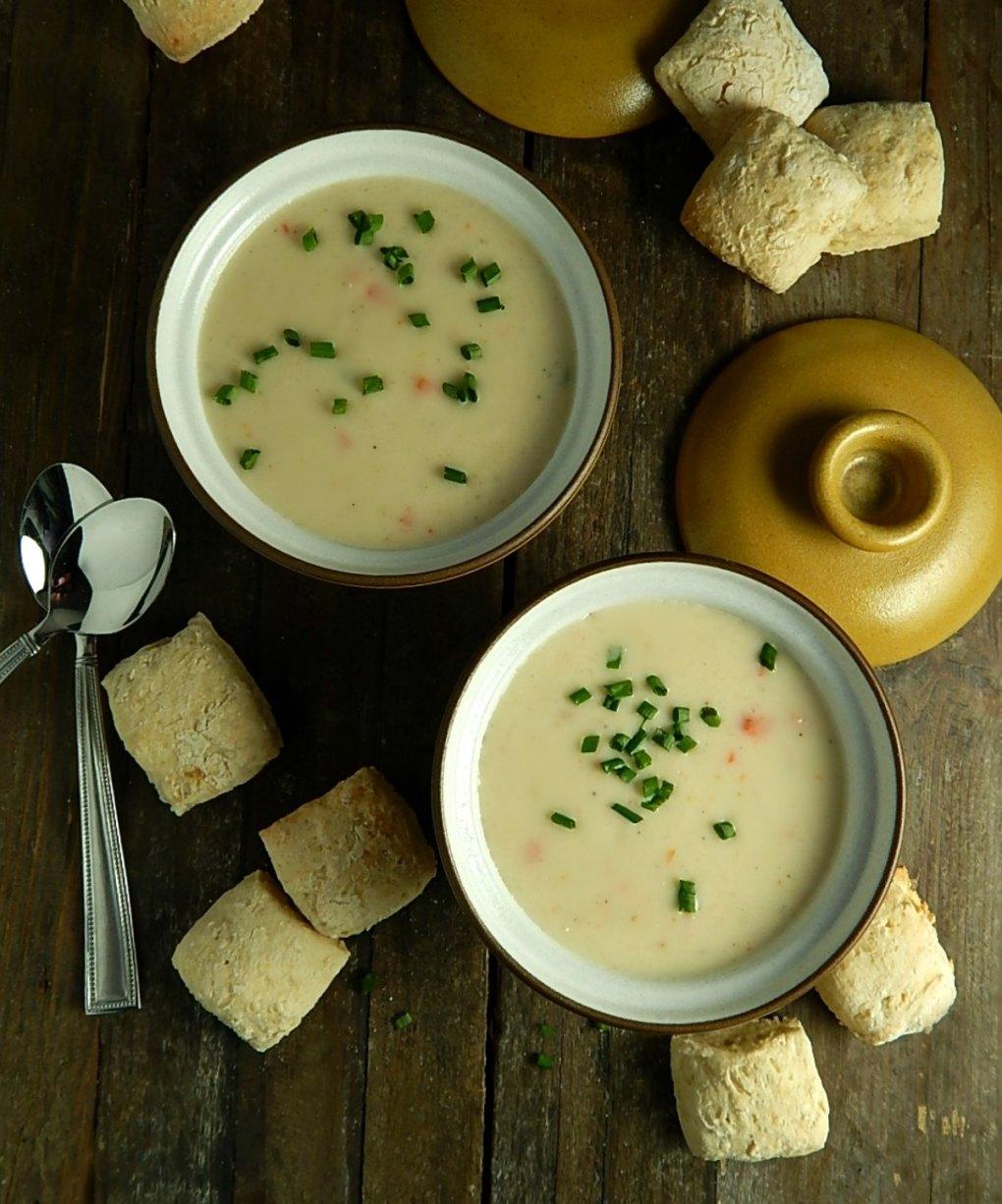 Simon Pearce Vermont Cheddar Soup