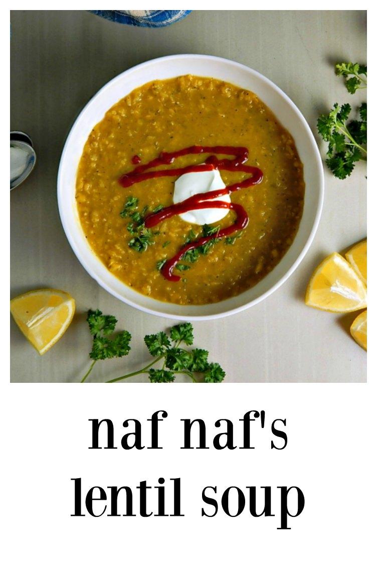 I think you're gonna love this simple, fast lentil soup, a copycat version of Naf Naf's Lentil Soup - on the table in less than 30 minutes! Instant Pot or StoveTop #NafNafSoup #NafNafLentilSoup #CopycatNafNafSoup