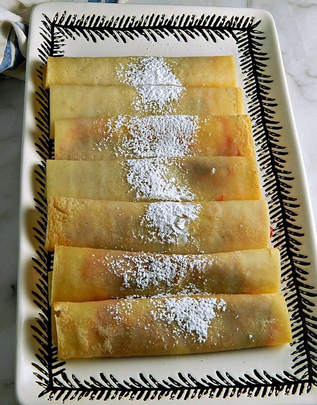 Oven Sheet Pan Crepes