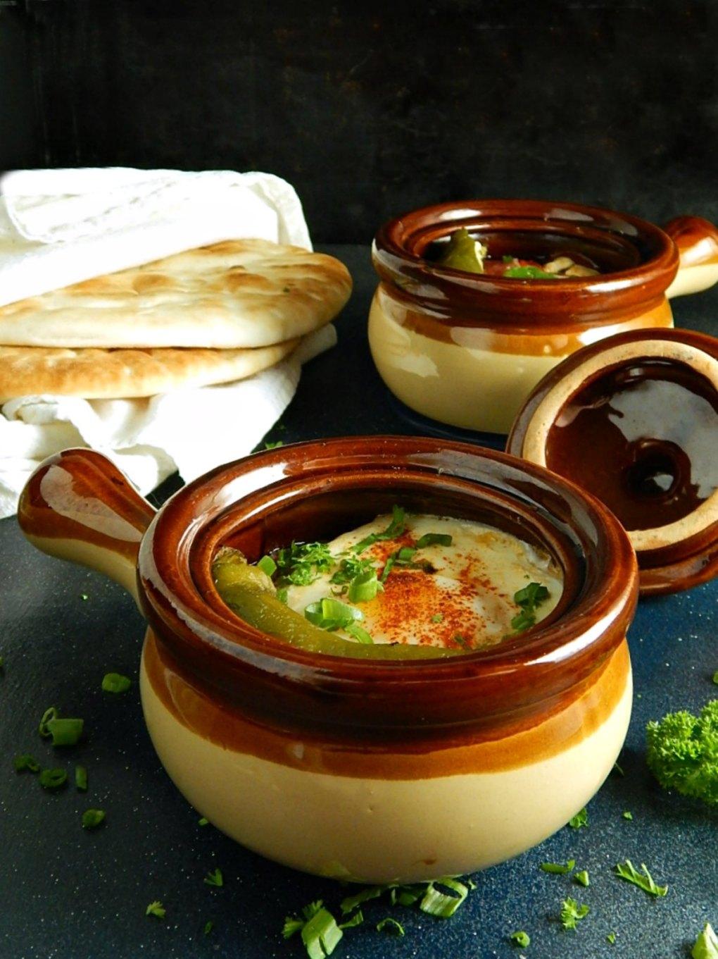 Bulgarian Cheese Pot - Сирене по шопски в гювече